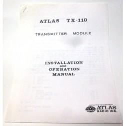 SMATX110  Installation and Operation Manual for Atlas TX-110 Radio