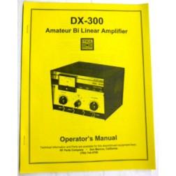 SMDX300  Operating Manual, Pride DX300