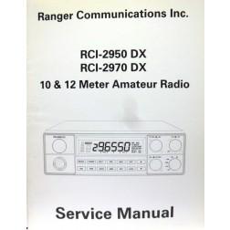 SMRCI29DX  Service Manual for Ranger RCI2950DX / RCI2970DX