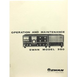 SMS350 Service Manual, Swan 350