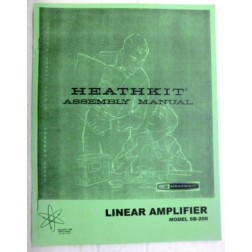 AMSB200  Assembly Manual, Heathkit SB-200