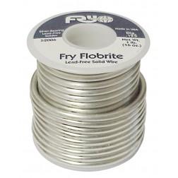 SOLDER52 Solder, fry flobrite 1 lb, .125 dia lead-free, 4% silver