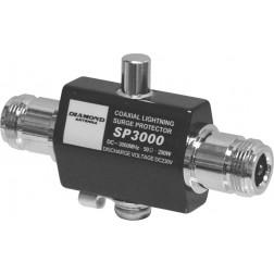 SP3000 Lightning arrestor, Type-n female dc-3 ghz 200w, Diamond