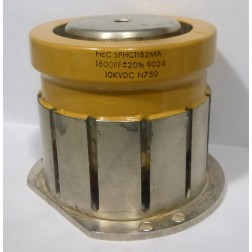 SPHC1182MA  High Voltage Single Cup Capacitor, 1800pf 10kv, +/- 20%, High Energy