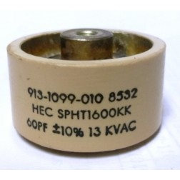 SPHT1600KK Doorknob, 60pf 13kv,  HEC