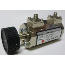 TA53-SMA  Rotary Attenuator, 0-10dB, SMA Female/Female, Trilithic (Clean Used)
