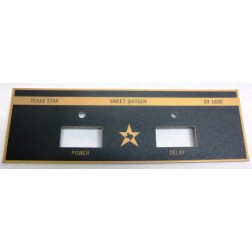 TEXFACE1600  Replacement FacePlate for DX1600