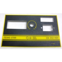 TEXFACE250HDV  Replacement FacePlate DX250HDV, Texas Star