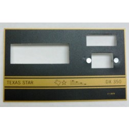 TEXFACE350  Replacement FacePlate DX350 Texas Star