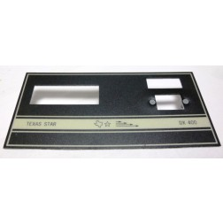 TEXFACE400 Replacement faceplate DX400, Texas Star
