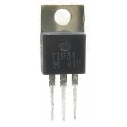 TIP31 Transistor, Medium Power Linear Switching, 3a 40v, Motorola