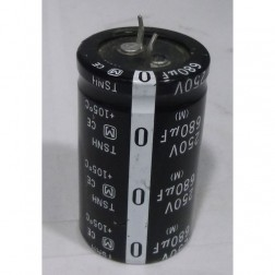 TSHN680-250 Capacitor, 680 uf 250v tshn, Snap lock, Panasonic