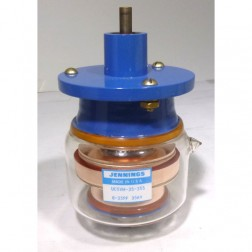UCSVH-35-35S Vacuum Variable Capacitor, 8-35pf, 35kv Peak, Jennings (Clean Used)