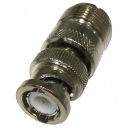 UG255A/U-1  Between Series Adapter, UHF Female(SO239) to BNC Male, Straight