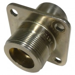 UG352B/U  LC Female 4 Hole Chassis Mount Connector, TRU (Clean Used)