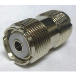 "RFP536 IN Series Adapter, UHF Female to UHF Female Barrel, 1.25"" Long"
