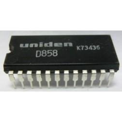 UPD858 Pll/audio IC, Uniden