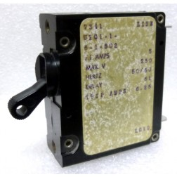 UPG1-1-6-1-502 Circuit Breaker, Single AC, 5a, Airpax