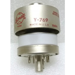 Y769 Transmitting Tube, Ceramic Tetrode, Y-769/4CX350F/8322, Eimac (NOS)