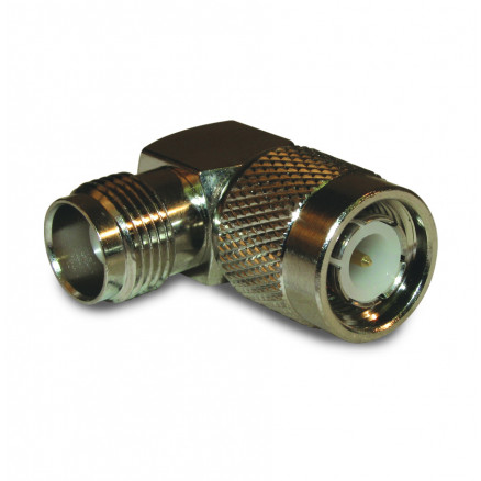 122352 IN Series Adapter, TNC Male to TNC Female, Right Angle, Amphenol