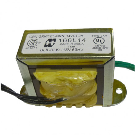 166L14 - Transformer 14vct at 2a, Hammond