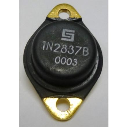 1N2837B  Diode, Zener 50 Watt 91v  TO-3 Case