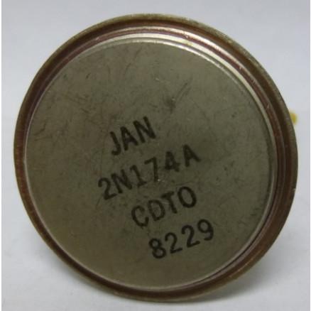 2N174A Transistor, Germanium PNP, JAN