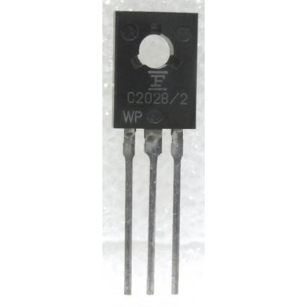 2SC2028 Transistor, 27 MHz, 0.7w,  Fujitsu