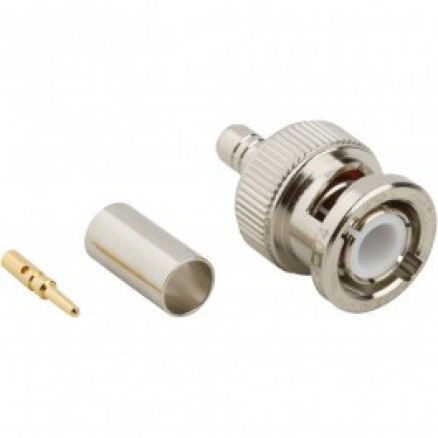 31-5999-RFX  BNC Male Crimp Connector, Cable Group X, Amphenol