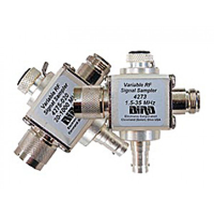 4275-025   20-1000 MHz, THRULINE® Variable RF Signal Sampler, Type-N Female / Female, Bird Electronics