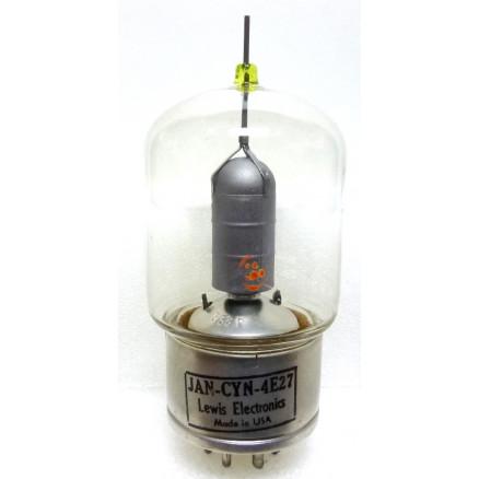 4E27 Transmitting Tube, Pentode, air cooled, VHF, USA