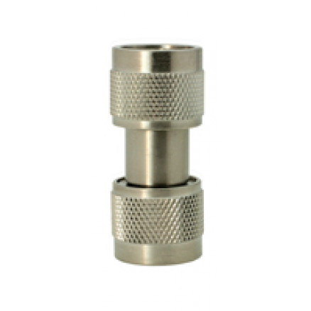 5004 In Series Precision Adapter, Type-N Male to N Male Barrel, DC-18 ghz, Aeroflex