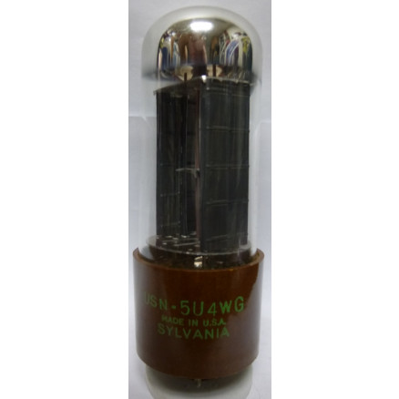 5U4WG Tube, Full-Wave High-Vacuum Rectifier, US brand