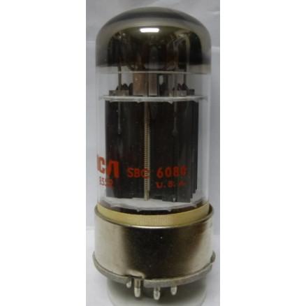 6080 Tube, Low-Mu Twin Triode Power Amplifier, RCA