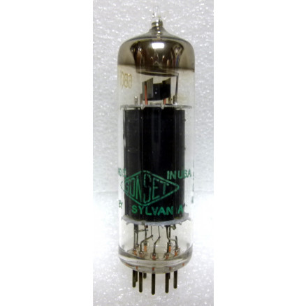6BQ5-US  Audio Tube, Beam Power Amplifier, USA