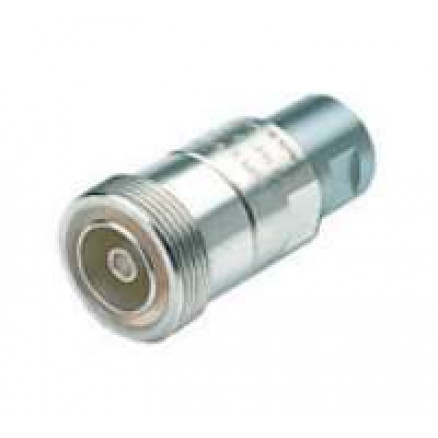 716F50V12N1  7/16 DIN Female connector for EC4-50 Cable, Eupen
