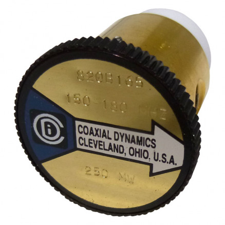 CD820B165 wattmeter element 150-180 mhz 250mw, Coaxial Dynamics