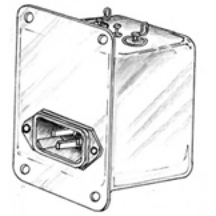 NF21244;  Emi Filter, 2 x 6amp,125/250 Vac Cornell Dubilier