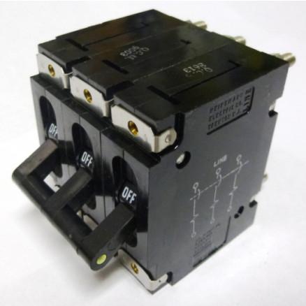 AM3-Z29-095 Circuit Breaker, 15a, 240vac, 3 Pole, Heinemann