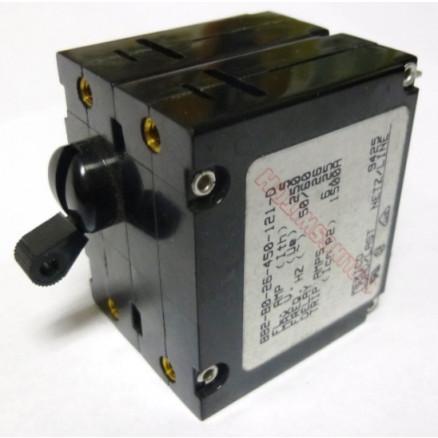 BB2-B0-26-450-121-D Circuit Breaker, Dual AC, 5a, Carlingswitch