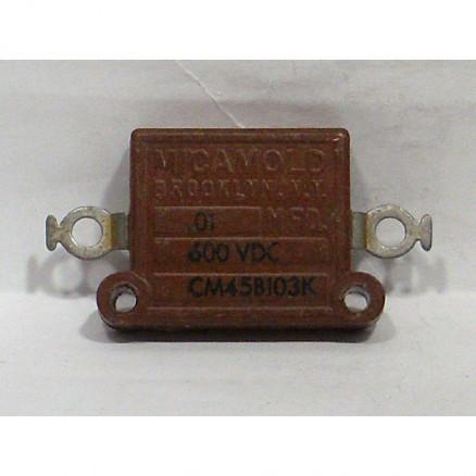 CM45B103K Mica Capacitor, .01mfd 600vd, Sangamo