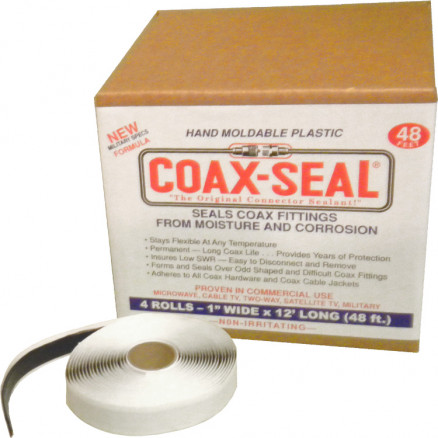 "CS106 - Coaxial Seal. 1"" Wide. 4 Rolls of 12'"