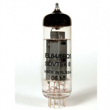 6BQ5/EL84 Audio  Tube,  Beam Power Amplifier MFR: Sovtek (Russian)