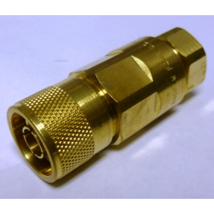 F4NMV2  Type-N Male Connector, FSJ4-50B