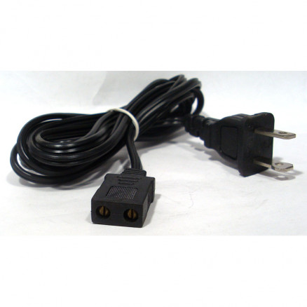 FPC68FT Fan power cord w/6 ft ac plug, straight plug