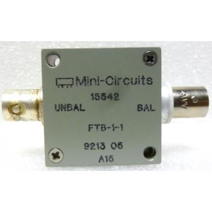 FTB-1-1 Mini-circuits, RF Transformer/Balun, 0 2-500 MHz, BNC Female,  50ohm, Mini-Circuits (Clean Used)