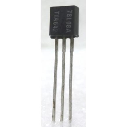 MC78L08A  Transistor, 100ma Positive Voltage Regulator