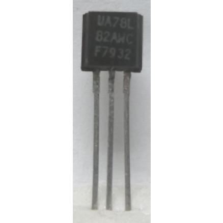 MC78L08AWC  Transistor, 100ma Positive Voltage Regulator, TO-92 Case (UA78L08AWC)