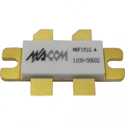 MRF151G Transistor, RF Power Field-Effect Transistor, 300 W, 50 V, 175 MHz  N-Channel Broadband MOSFET, M/A-COM