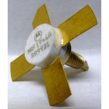 MRF1946A Transistor, NPN Silicon Power Transistor, Stud Mount, 30 Watt, 10 dB, 12.5 Volt, 175 MHz, Motorola